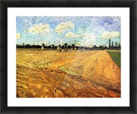 Ploughed Field by Van Gogh Picture Frame print
