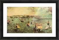 Port of Naples by Pieter Bruegel Picture Frame print