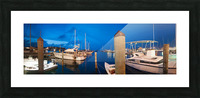 Key West Marina at Dusk Picture Frame print