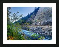 Wenatchee River  Picture Frame print