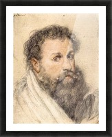 Portrait of a Man by Rubens Picture Frame print