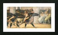 A dance for Phyrrus by Alma-Tadema Picture Frame print