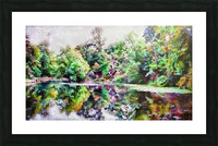 Fall Lake Reflections Picture Frame print