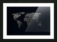 Dark Continent Ifren Picture Frame print