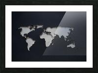 Dark Continent GoGo Picture Frame print