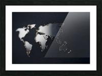 Dark Continent Fadana Picture Frame print