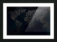 Dark Continent Milina Picture Frame print