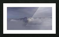 heli ski in the kootenays Picture Frame print
