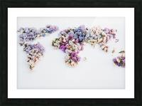 Light Continent Erina Picture Frame print