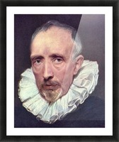 Portrait of Cornelius van der Geest by Van Dyck Picture Frame print