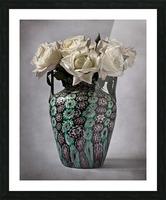 Venetian murrine vase Picture Frame print