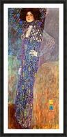 Portrait of Emily Floge by Klimt Picture Frame print