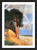 Landscape 2 by Lesser Ury Picture Frame print
