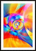 4th Dimension - Abstract Art XVI Picture Frame print