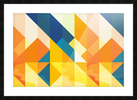 Geometric LI Picture Frame print