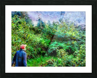 A Walk In The Countryside Picture Frame print