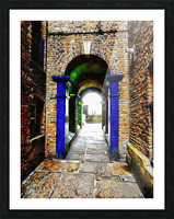 Linking Shad Thames with the River Thames Picture Frame print