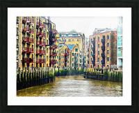 St Saviours Dock London Picture Frame print