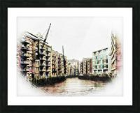 St Saviours Dock Bermondsey Picture Frame print