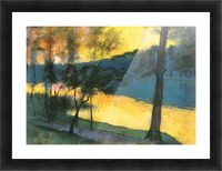 Landscape by Lesser Ury Picture Frame print