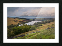 The Cray Reservoir in the Brecon Beacons National Park Picture Frame print
