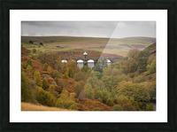 Elan Valley top dam Picture Frame print