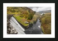 Craig Goch dam Picture Frame print