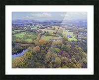Autumn in Cwm-twrch Isaf Picture Frame print