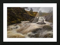 Elan valley watercourse Picture Frame print