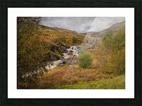 Elan valley landscape Picture Frame print
