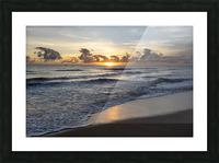 Sunrise Golden Picture Frame print