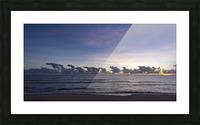 Sunrise Clouds Picture Frame print