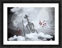 heavenly music Picture Frame print