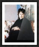 Portrait of Madame Pontillon Picture Frame print