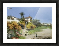 An afternoon stroll Picture Frame print