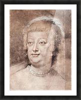 Portrait of Maria de Medici by Rubens Picture Frame print