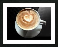 Uno Cappuccino Picture Frame print