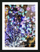 Christmas Lights 5 Picture Frame print