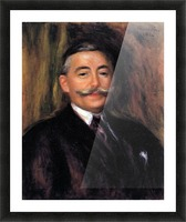 Portrait of Maurice Gangnat by Renoir Picture Frame print