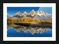 Grand Teton National Park Picture Frame print