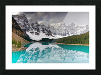 Canadian Rockies Picture Frame print