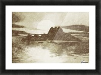 Island Picture Frame print