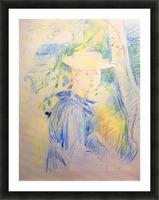Portrait of Paule Gobillard by Morisot Picture Frame print