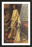 Portrait of Rapha by Renoir Picture Frame print
