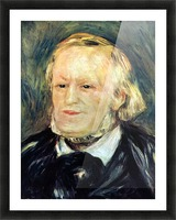 Portrait of Richard Wagner by Renoir Picture Frame print