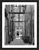 The Old Alleyways Picture Frame print