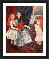 Portrait of the daughter of Catulle-Mendes Picture Frame print
