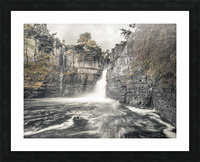High Force waterfall, North Pennines, Yorkshire, UK Picture Frame print