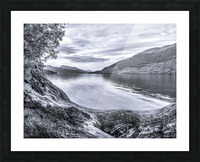 Scottish Loch Picture Frame print