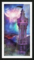 Interregnum Tower Picture Frame print